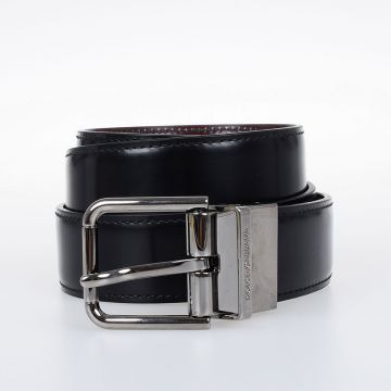 COREGGIO Reversible Leather Belt 30 mm