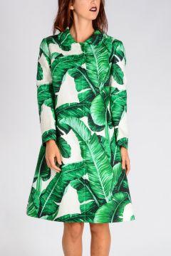 Floral Brocade Coat