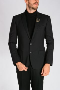 Stretch Virgin Wool Blazer