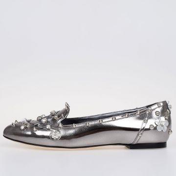 Studded Mirror AUDREY Ballet Flat