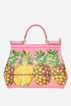Leather SICILY PINEAPPLE Bag