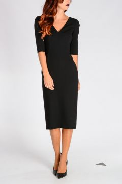 Stretch Virgin Wool Dress