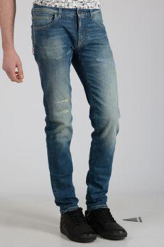 17cm Stretch Embroidered Denim Jeans