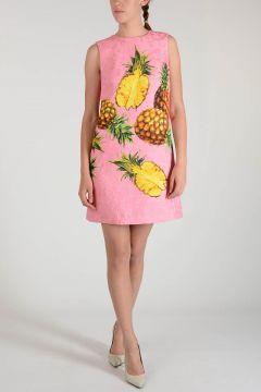 Pineapple Printed Dress