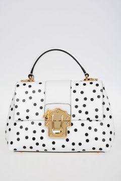 Pois Printed Leather Bag