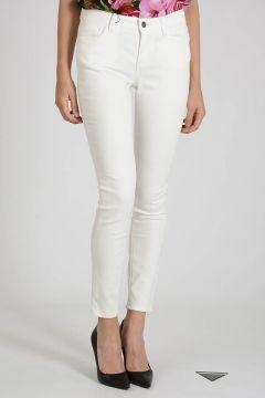 13cm Stretch Denim Embroidered Jeans