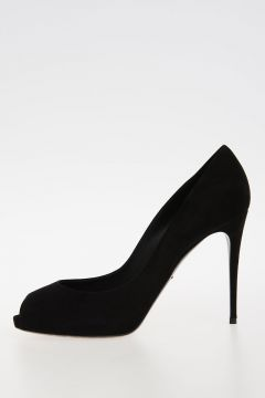 10+ cm Suede Leather Pumps