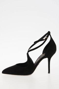 9cm Heel Leather Sandals