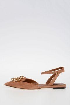 Suede BELLUCCI Sandals Flats