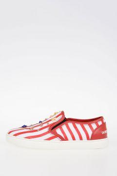 Striped Slip On