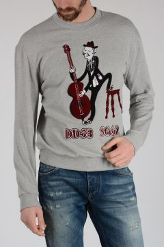 Sweatshirt DG FAMILY with Music Embroidery