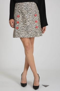 Glittered miniskirt