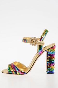 11cm Sequins Sandals