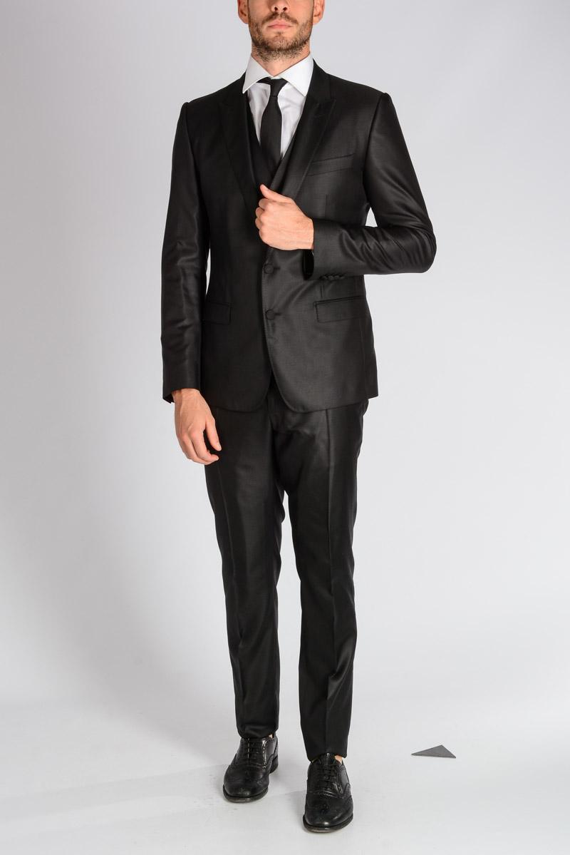 31d1916e4d1 Dolce   Gabbana Men Silk Tuxedo 3 Pieces Suit - Glamood Outlet