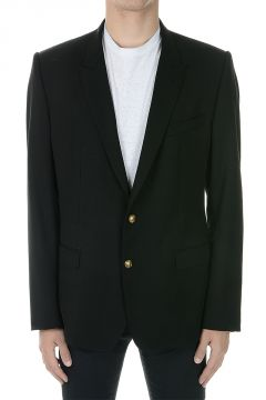 MARTINI Virgin Wool Silk Blazer