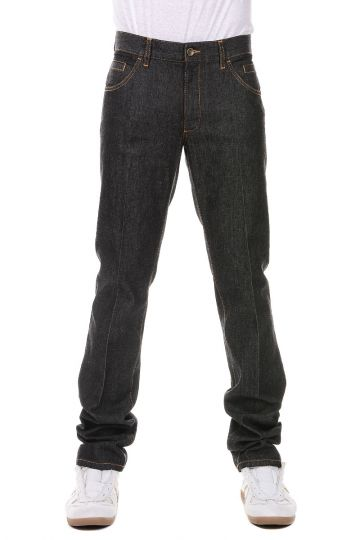 Jeans in Denim Straight Leg 19 cm