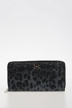 Leo Printed Leather Wallet