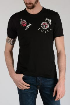 T-shirt with Embroidery Instruments