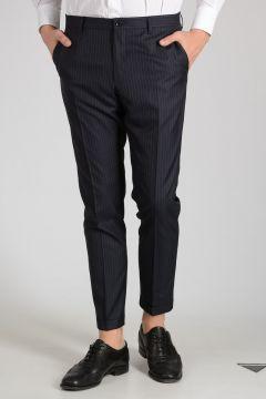 Silk Virgin Wool Pants