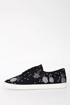 Sneakers Basse In Tessuto