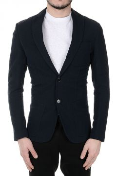 Linen Cotton CAPECORAL Single Breasted Blazer