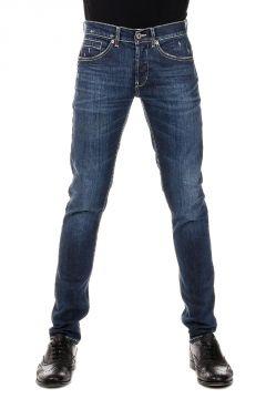 Jeans GEORGE in Denim stretch 16 cm