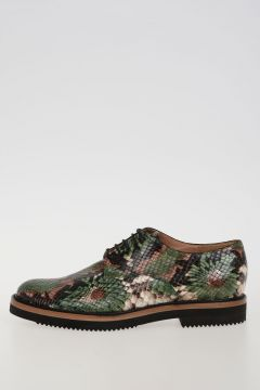 Python Printed Leather shoes