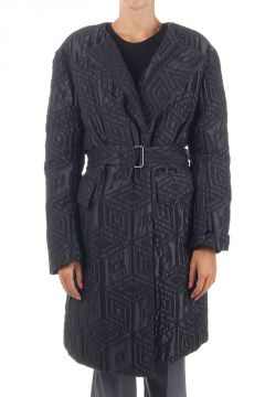 "Padded ""Roxie"" Coat with Belt"