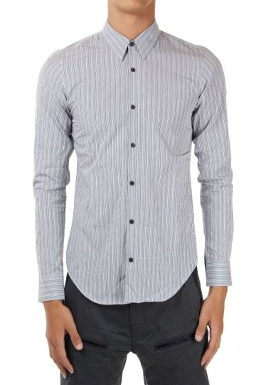 Camicia Regular Fit a Righe