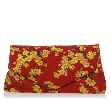 Brocade Fabric Hand Pochette