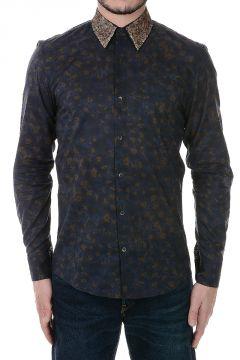 Camicia in Cotone con Paillettes