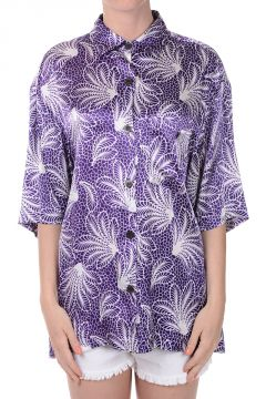 Short sleeves Floral Printed Blouse
