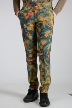 Printed Cotton PRIDDY Pants