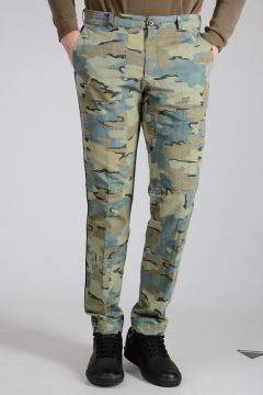 Cotton Linen PRIDDY Camouflage Pants