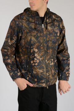 Hooded Flowered Jacket