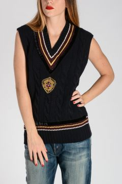 Sleeveless Embroidery MILLA Sweater