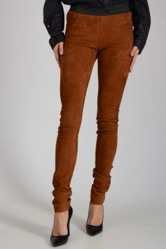 Leather Suede Leggings