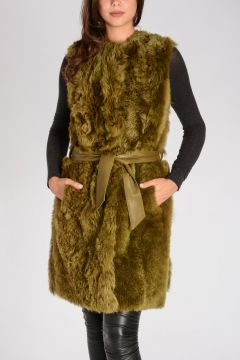 Cappotto Reversibile in Shearling