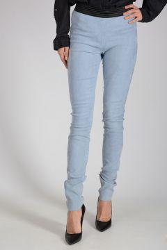 Suede Leather Leggings