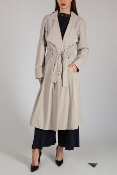 Leather Trench with Belt