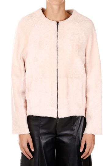 Shearling Reversibile con Zip