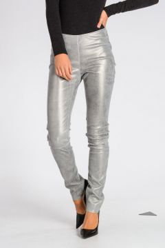 Leggings in Pelle