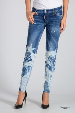 11 cm Stretch Denim Super Skinny Jeans