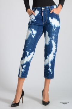 Jeans TOMBOY in Denim Stretch 18 cm