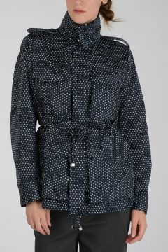 Hoodie Jacket with Dots