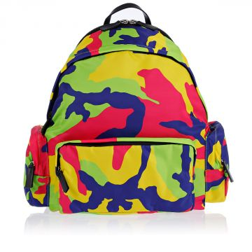 Nylon Camouflage Backpack
