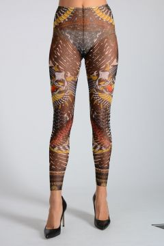 Tattoo Lace Leggings