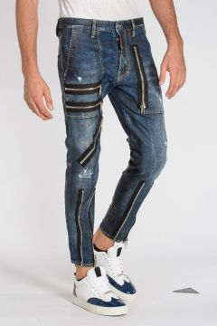 16 cm Stretch Denim MILITARY Jeans