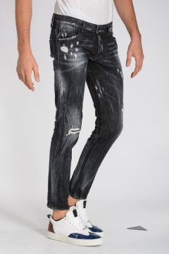 16 cm Stretch Denim Distressed CLEMENT Jeans