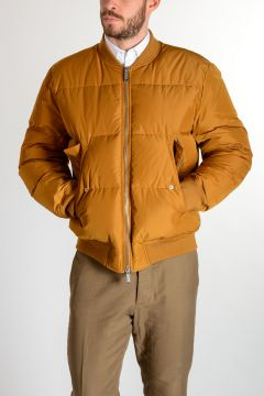 Nylon Lined Down Padded Jacket
